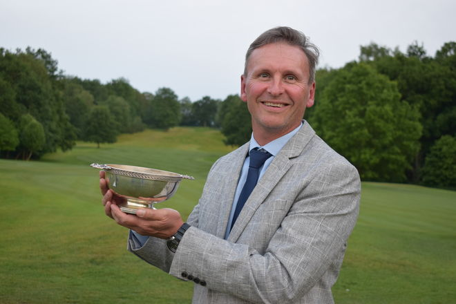 Professional Nico Els, joint winner of the Sam Bannister Trophy